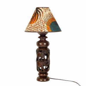 AFRYKAŃSKA LAMPA ZE ZWIERZĘTAMI
