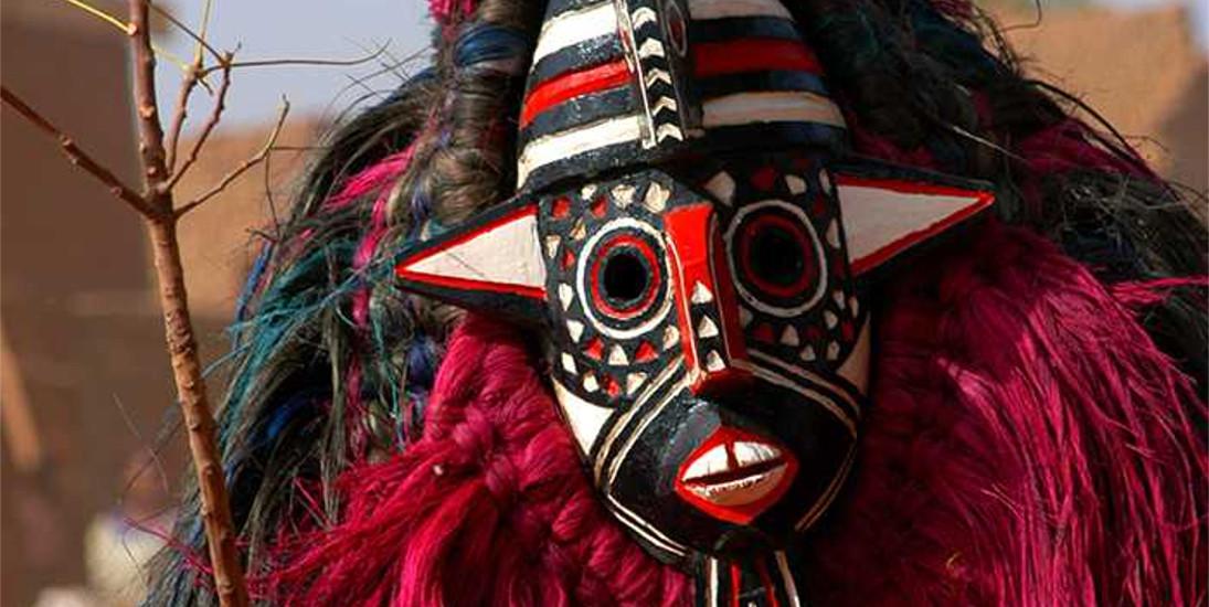 Maski afrykańskie - historia