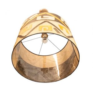 LAMPA WISZĄCA Z SIZALU Z DEMOKRATYCZNEJ REPUBLIKI KONGA