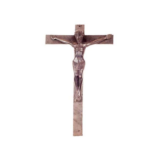 AFRYKAŃSKI HEBANOWY KRZYŻ Z JEZUSEM
