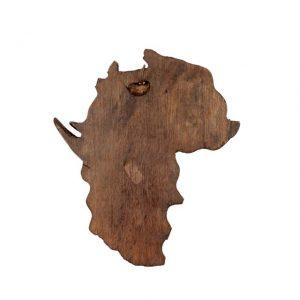 MAPA AFRYKI Z WIELKĄ PIĄTKĄ Z MALAWI