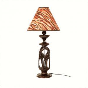 LAMPA HEBANOWA ŻYRAFY
