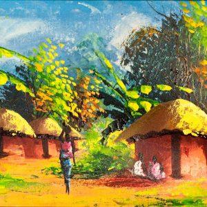 OLEJ NA PŁÓTNIE Z ZAMBII