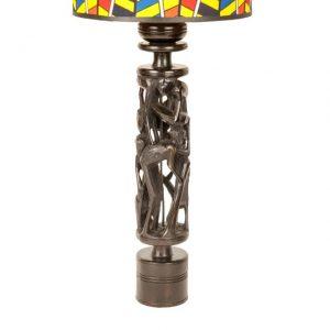 HEBANOWA LAMPA DRZEWO ŻYCIA