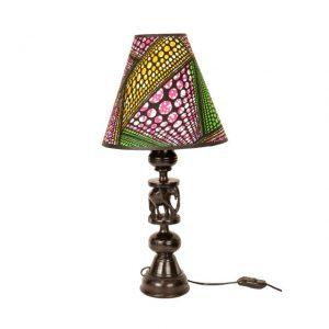 LAMPA HEBANOWA ZE SŁONIEM